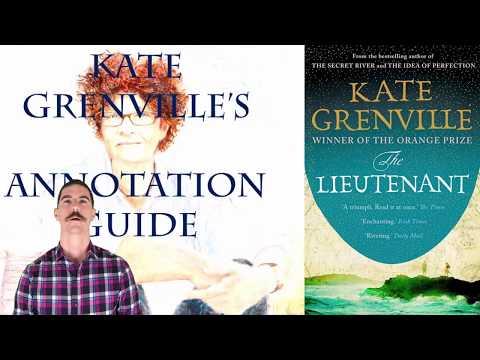 Kate Grenville's The Lieutenant - Annotation Guide (VCE / HSC Text)
