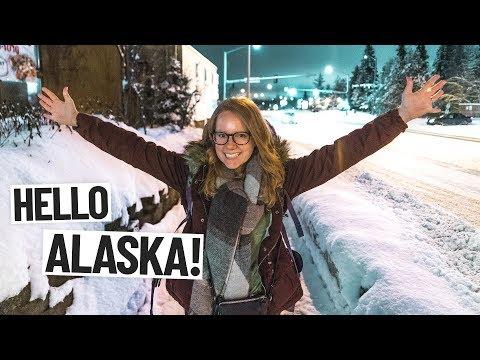 ARRIVING TO ALASKA!! + Broke Our $1000 Camera Lens 😭(Seattle ✈️ Anchorage, Alaska)