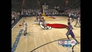 NBA Live 06 PlayStation 2 Gameplay - EA Hot Summer Night