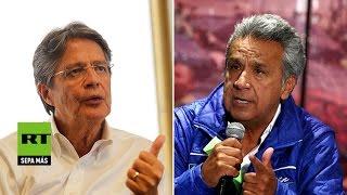 Definitivo: Moreno y Lasso se enfrentarán en una segunda vuelta en las presidenciales de Ecuador