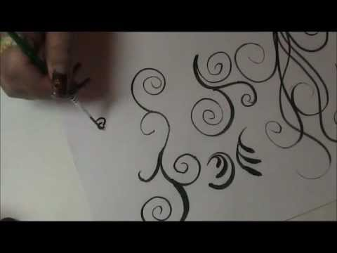 Showing You How I Do Basic Brush Strokes For Nails And Much More