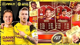CAN'T BELIEVE THESE REWARDS!! 5 WALKOUTS!! | FIFA 21 REUS TO GLORY #8