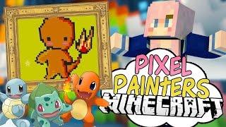 Pokémon Victory | Pixel Painters | Minecraft Art Minigame