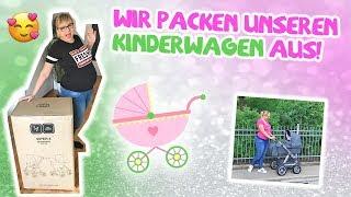 Ich zeig euch meinen Kinderwagen / Schwanger Vlog SSW 34 / Viper 4 von ABC Design