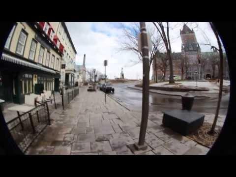 Rue du Tresor Quebec city