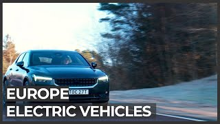 Europe seeks to compete with Asia in electric vehicles