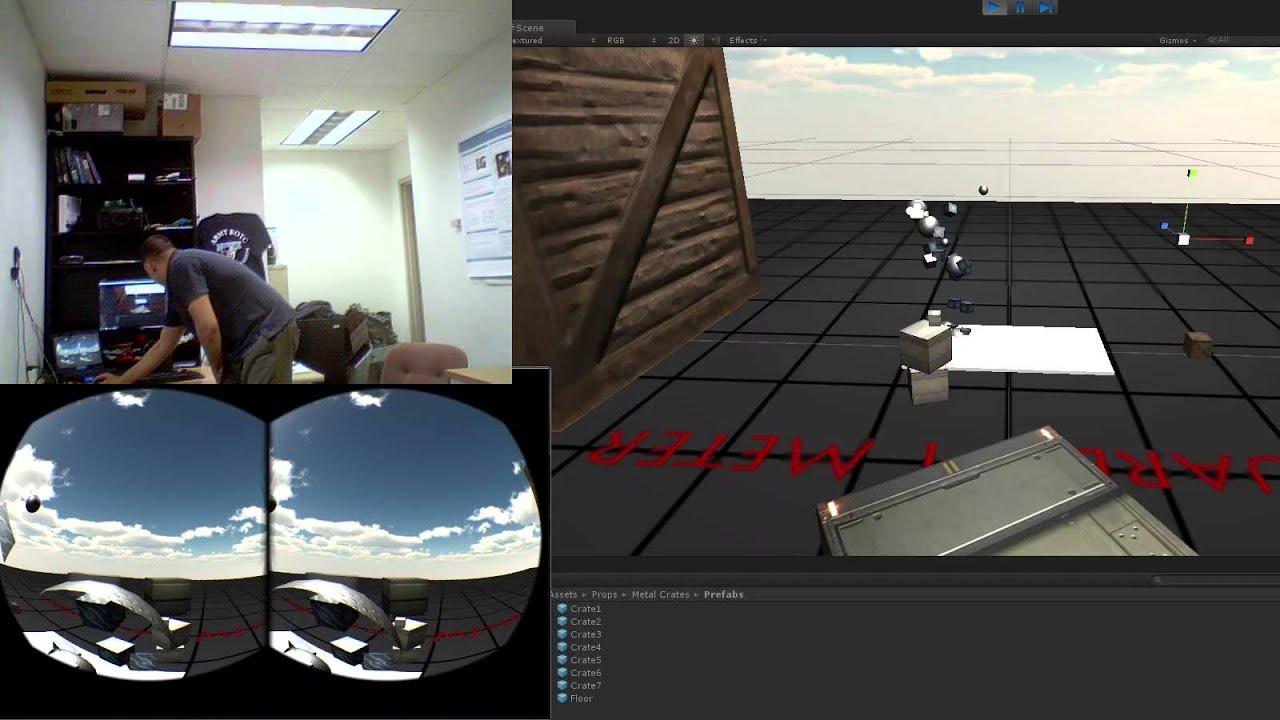 Unity kinect v oculus rift dk arduino game for