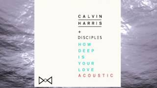 Calvin Harris & Disciples - How Deep Is Your Love (Acoustic Version)