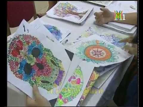 Coloring Book Chuong Trinh Trien Lam Va Cuoc Thi To Mau Buoc Vao Khu Rung Bi Phu Phep