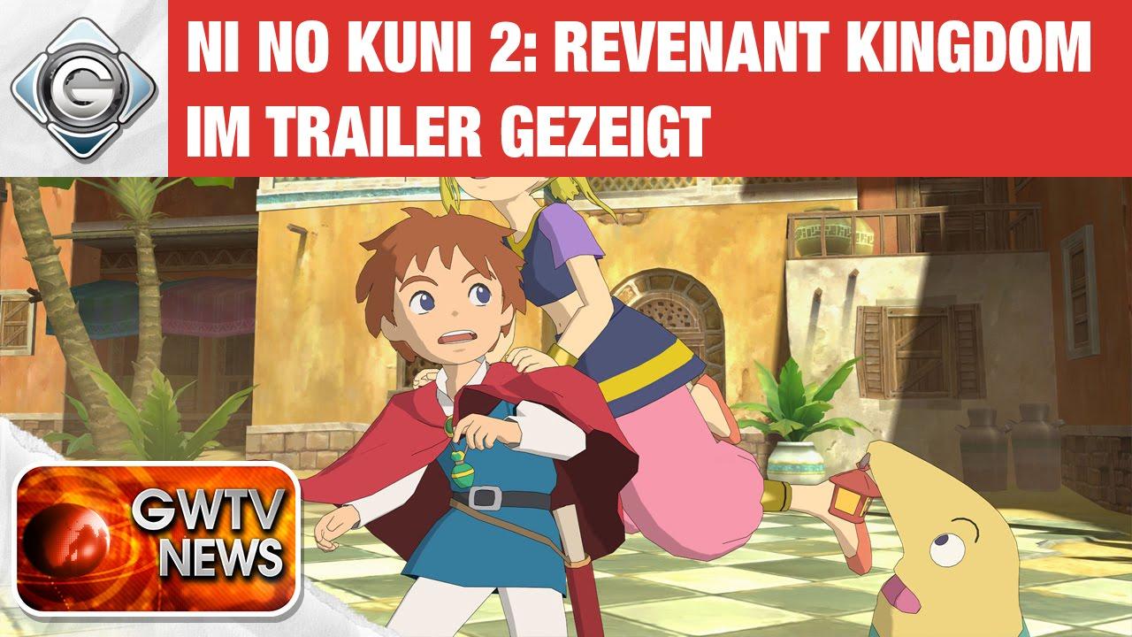 Ni No Kuni 2 Revenant Kingdom - PSX 2016 Gameplay Trailer