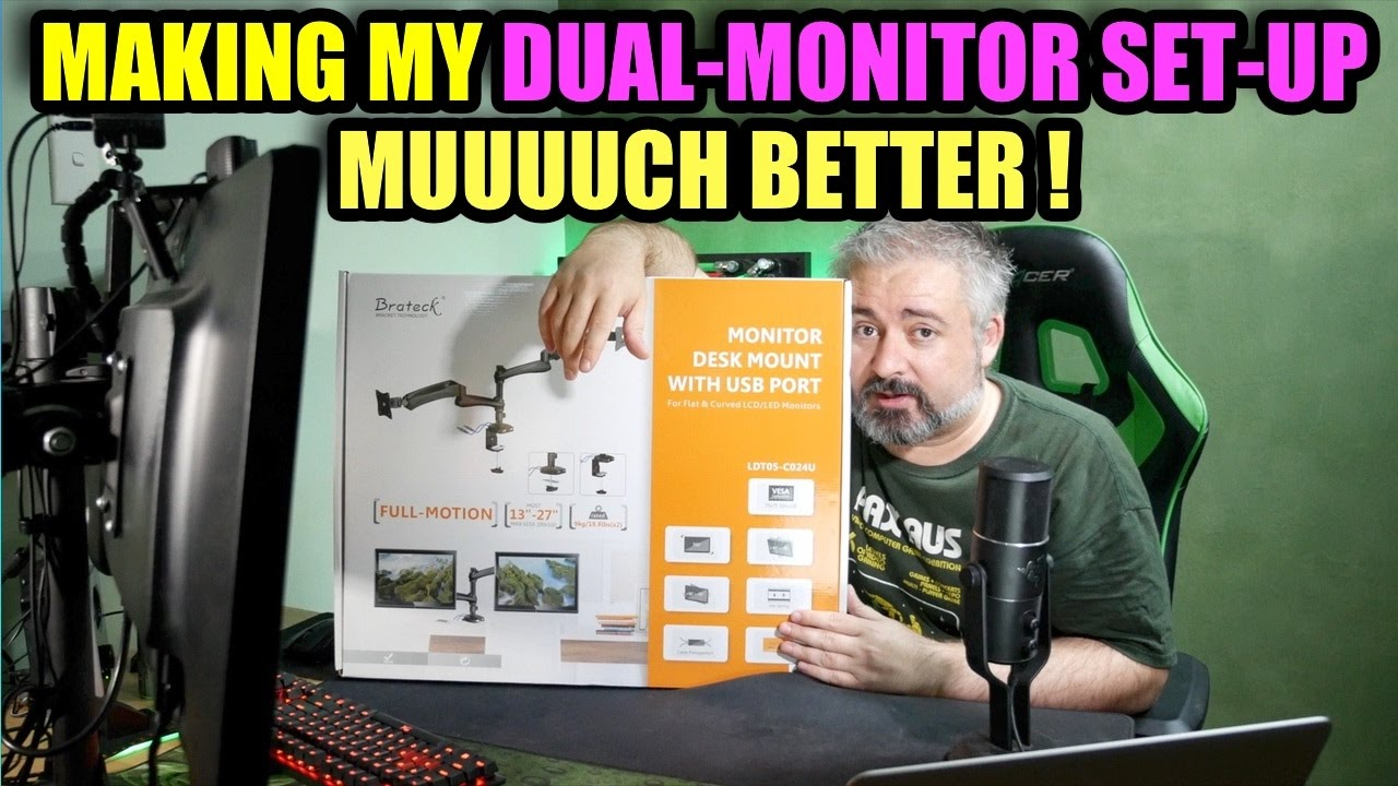Making My Dual Monitor Setup Much Better