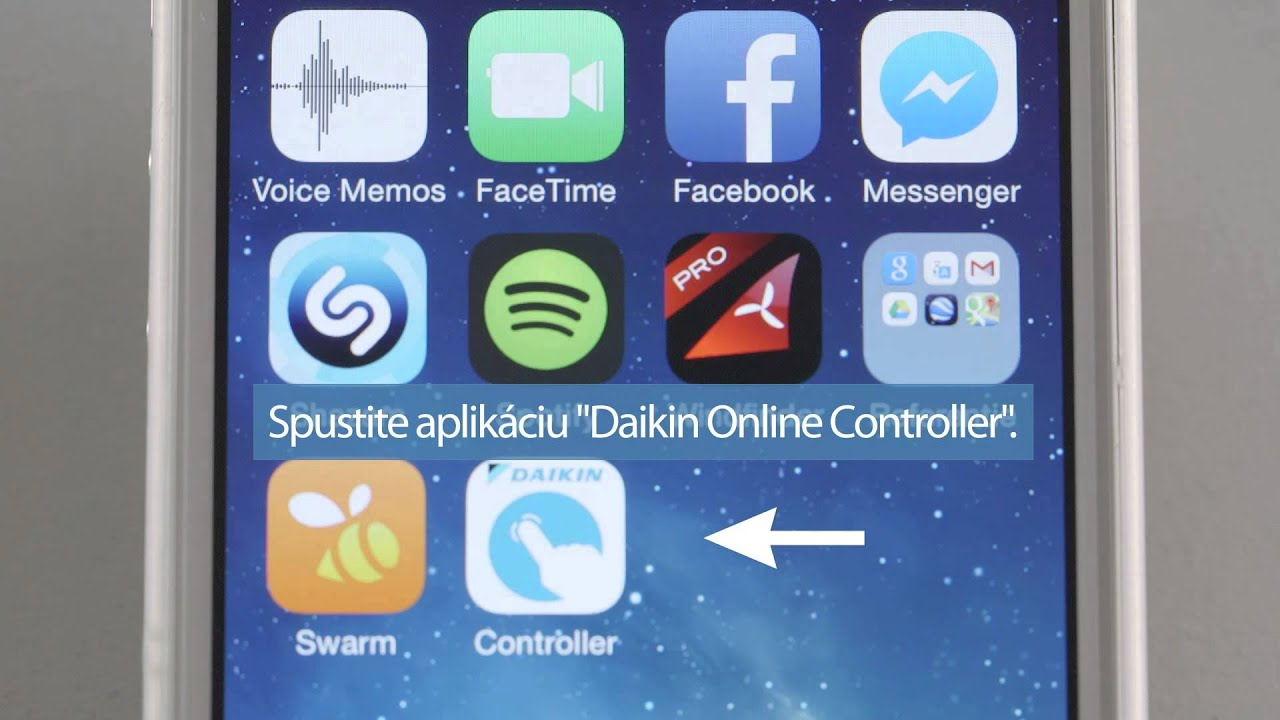 DAIKIN Online Controller SK manual | Chladenie a