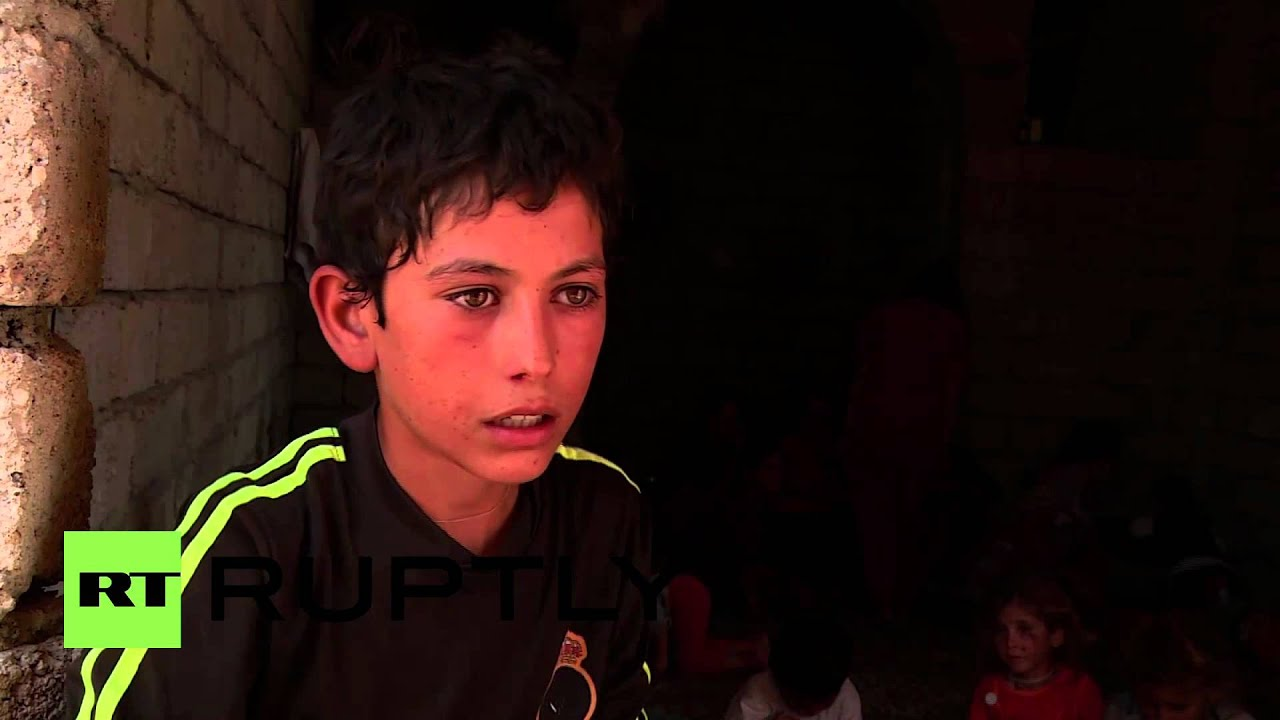 Iraq: Displaced Kurdish kids battling hunger and IS