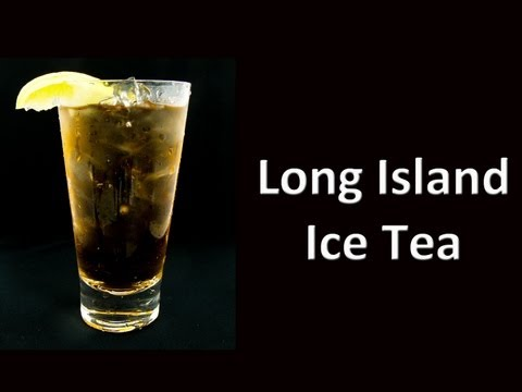Best Long Island Ice Tea Cocktail Drink Recipe