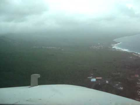 Landing RWY20 At Moroni Prince Said international Airport