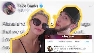 Did FAZE BANKS Cheat On Alissa Violet?