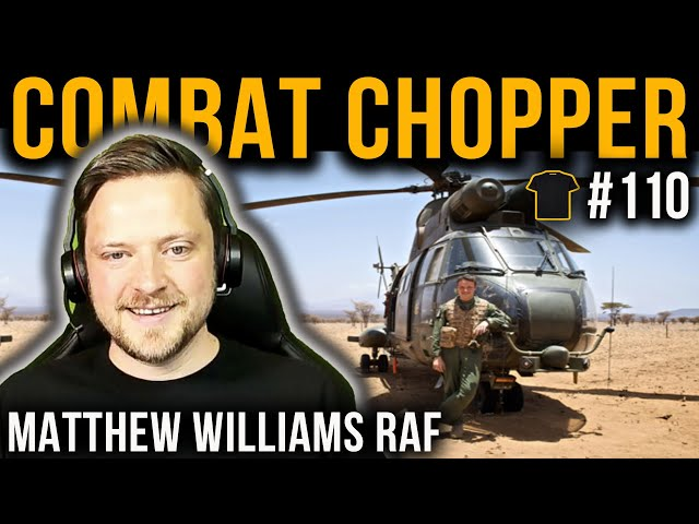 Everything Drones! | Combat Chopper Pilot | Matt Williams | Royal Air Force | Chris Thrall's Podcast