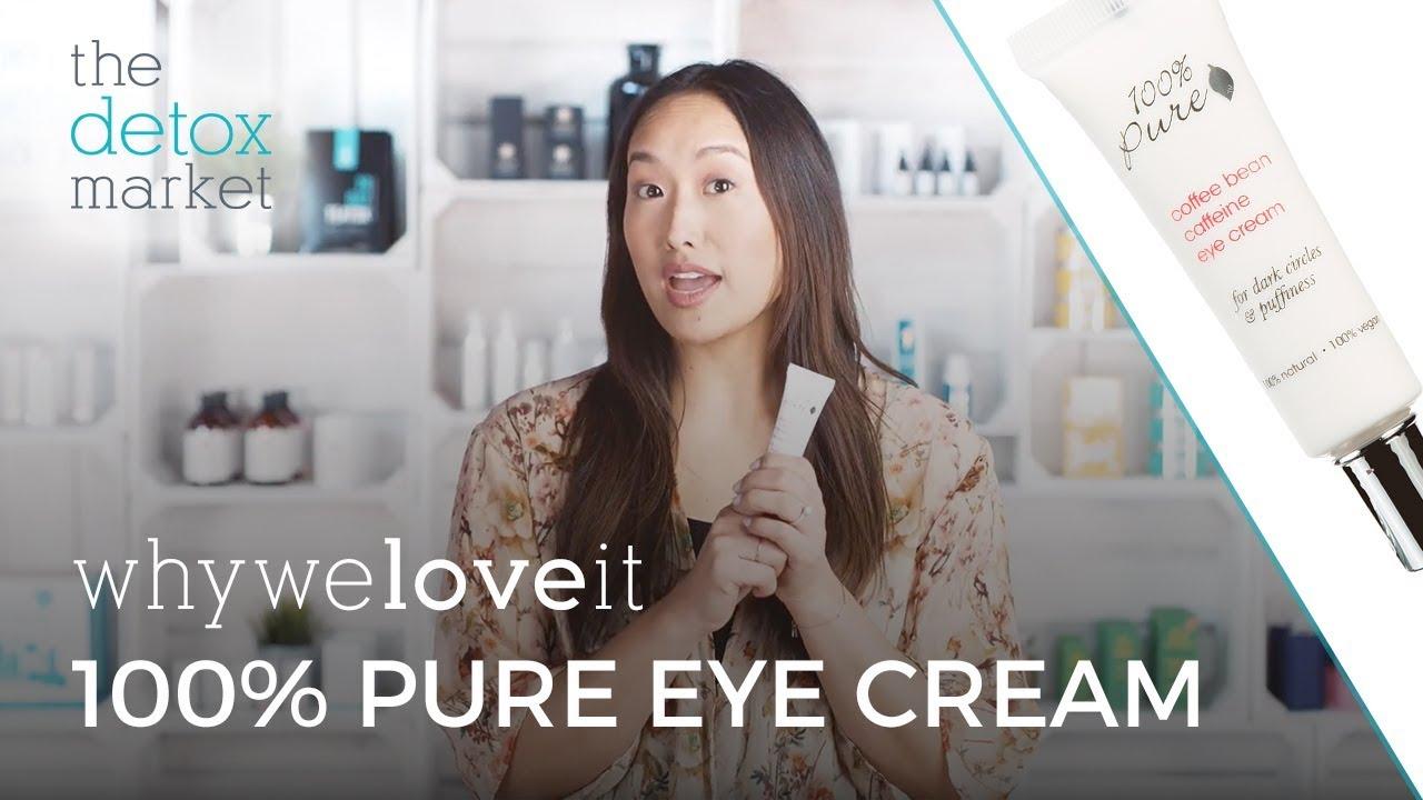 Why We Love It - 100% Pure Coffee Bean Caffeine Eye Cream
