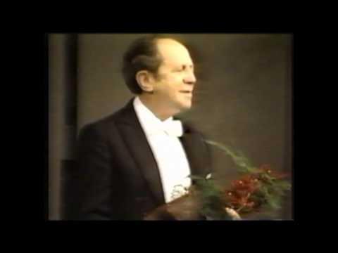 Gyorgy Sebok Recital 4 of 4 (Liszt Mephisto Vals)