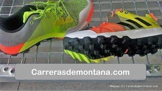 Adidas Kanadia TR8 (80€/275gr): Zapatillas trail running. Análisis por Mayayo @moxigeno