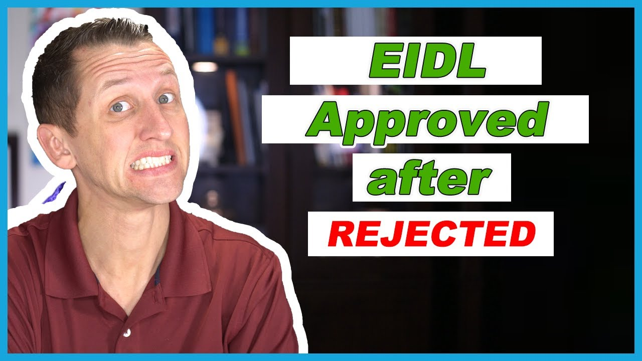 How To Get Eidl Loan Approved Youtube