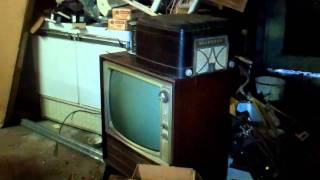 Massive Lot of Vintage Tube Television TV Sets And My Trip To Get Some