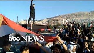 Syria denounces the U.S.-led attack