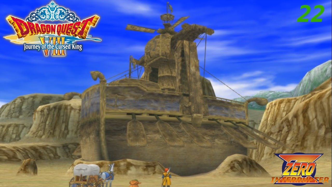 Dragon Quest Viii Playthrough 22 A Boat In A Desert Youtube