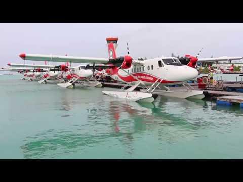 Maldivian seaplane, DHC-6 Twin Otter, Male - Meedhupparu