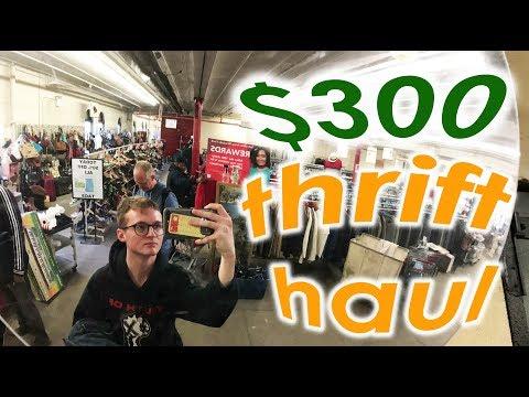$300 Thrift Haul (Best NYC Thrift Stores)