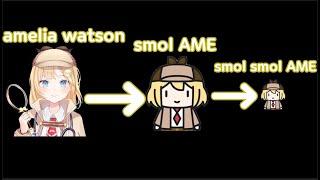 [홀로라이브] 아무도 듣지못한 아멜리아 왓슨 목소리 + 장난기기능 불러보았다