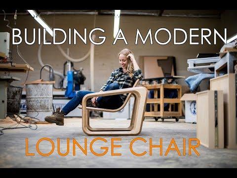 Building a Retro Modern Lounge Chair!