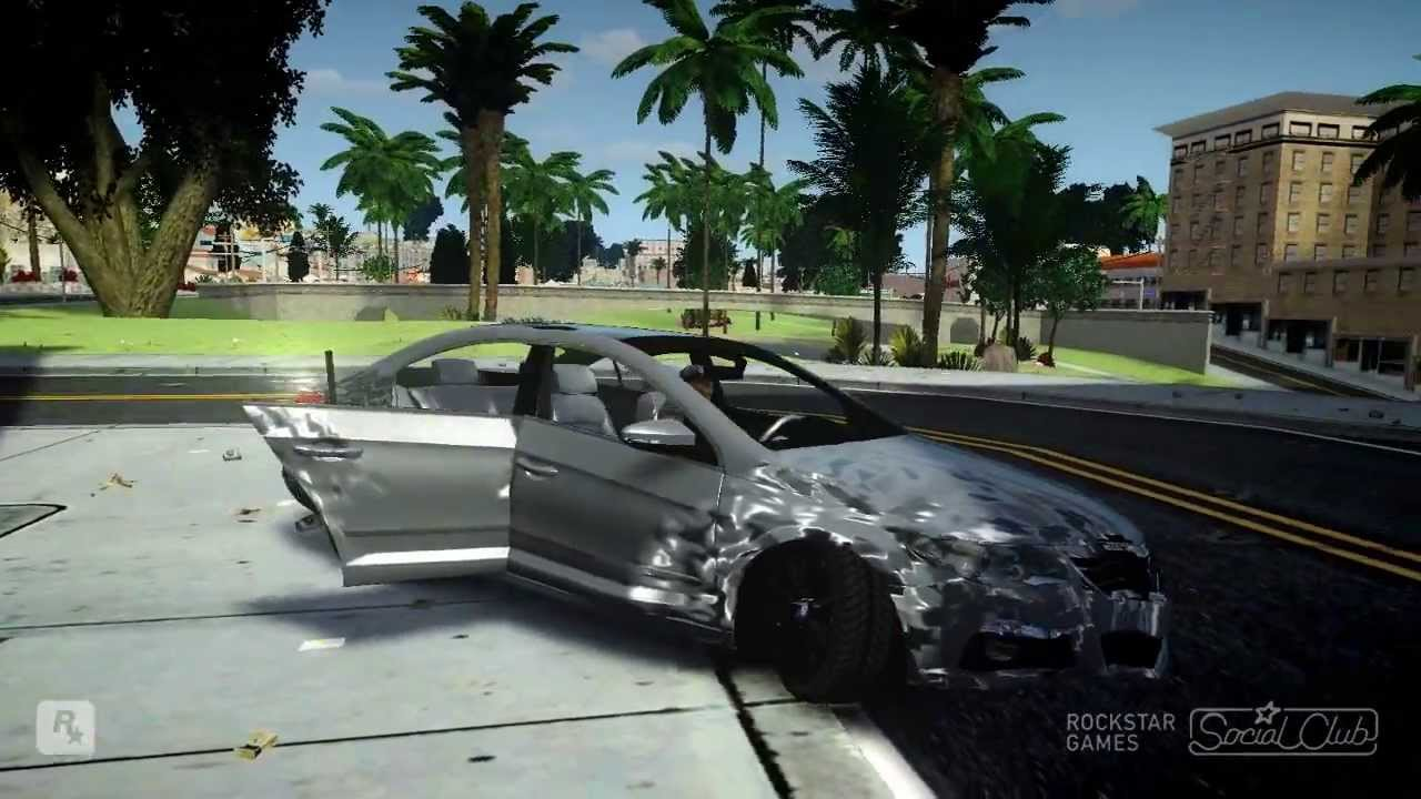 Car Accident In Game