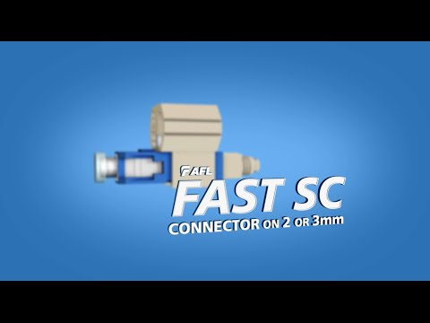 FASTConnect® SC connector instructions for 2 or 3mm cable