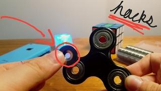 3 Fidget Spinner Hacks, EASY