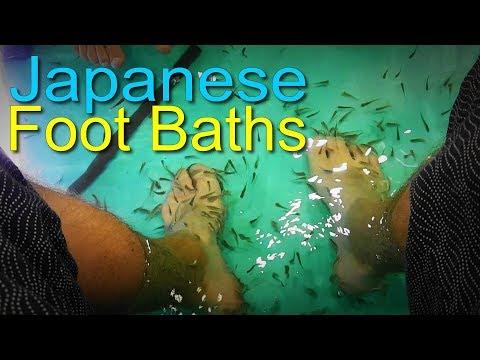 Exploring Japanese Foot Baths