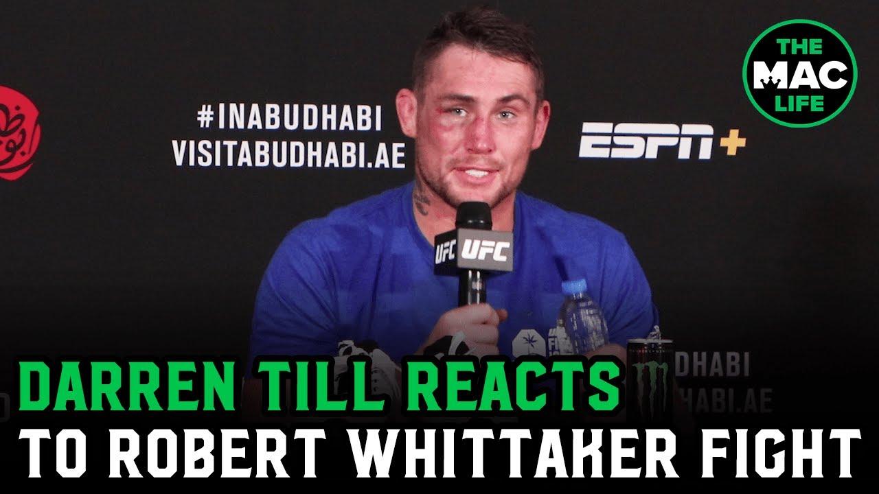 "Download Darren Till on Robert Whittaker fight: ""I feel like we both won""; reveals knee tear in round 2"