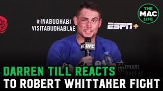 Darren Till on Robert Whittaker fight: