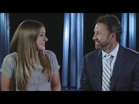 North Carolina's Larry Fedora talks 'Naked and Afraid,' that beard and more with his daughter