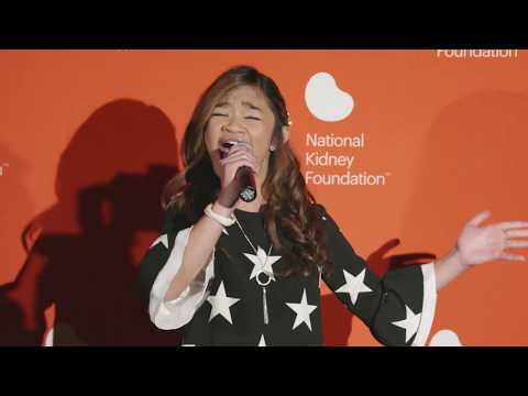 Fight Song - Angelica Hale at 2019 Kidney Patient Summit