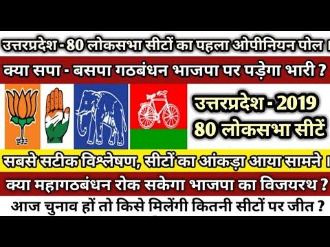 👉Opinion Poll # उत्तरप्रदेश 2019 # 80 लोकसभा सीटों पर जनतापोल का विश्लेषण। Mood of Uttar Pradesh..