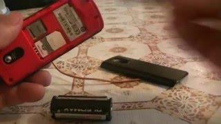 Как подключить мобильник от пальчиковых батареек How to connect your cell phone from AA batteries