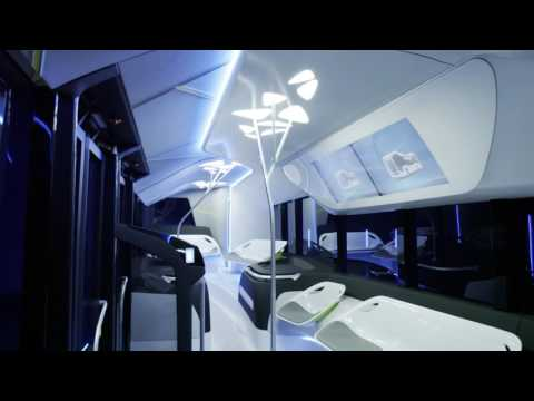 Mercedes-Benz Future Bus - Interior design