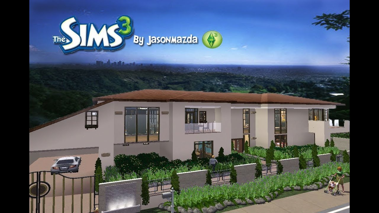 The sims 3 house designs bridgeport hills youtube for Sims 3 home designs