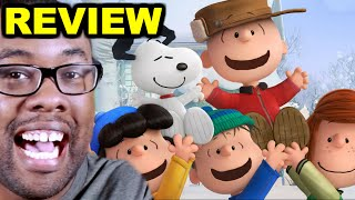 THE PEANUTS MOVIE REVIEW (Snoopy & Charlie Brown) : Black Nerd