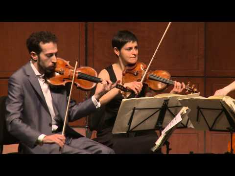Beethoven String Quartet, Op. 18, No. 1 in F Major - Ariel Quartet (full)