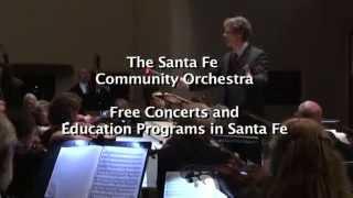 Santa Fe Community Orchestra -  2014 Give Grande NM