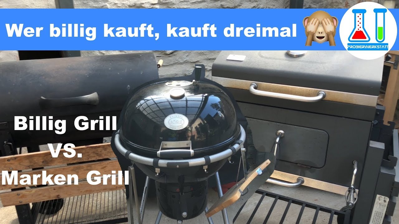 Rösle Gasgrill Im Vergleich : Grill vergleich: wer billig kauft kauft dreimal. mein weg vom tepro