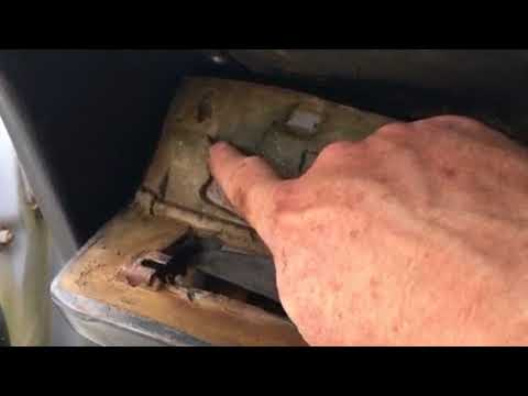 1968 1969 Plymouth Roadrunner Satellite dash cluster removal - YouTube