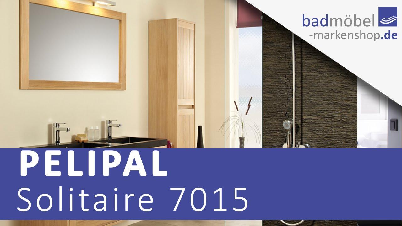 Pelipal Solitaire 7015 Badmöbel - YouTube